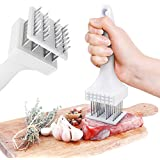 Super Summer Sale - Save $7.77 - Meat And Poultry Tenderizer, BBQ, Kitchen & Dining, Stainless Steel Blades & Hammer Tool & Gadget Sets Utensils