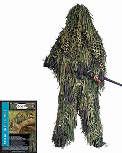 Ghillie Jackal Jungle Camo