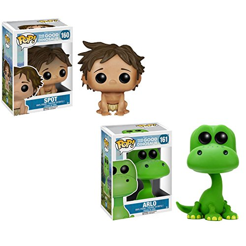 The Good Dinosaur Spot and Arlo Pop! Vinyl Figures Set of 2