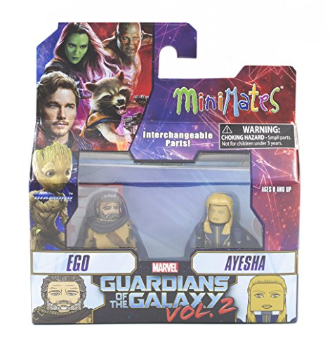 - Marvel Minimates Series 71 Guardians of the Galaxy Vol. 2 Ego & Ayesha 2-Pack