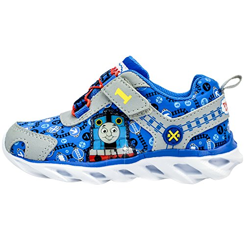 Kids Toddler Boys Thomas The Tank Engine Light up Sneakers Blue Size 5 by Thomas And Friend (Image #2)