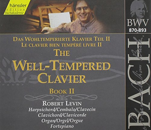 The Well-Tempered Clavier: Book 2 by Haenssler Classics