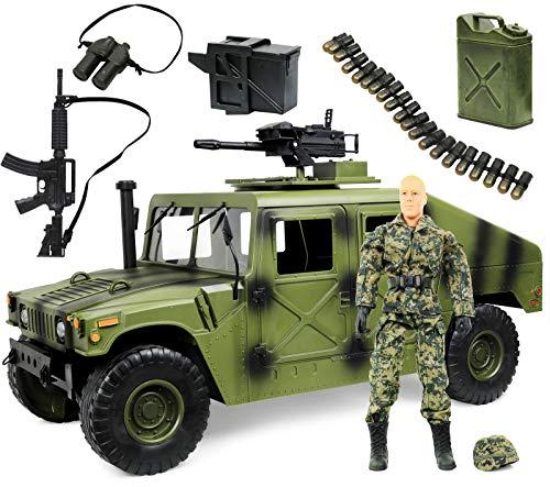 Figures 12 Inch Military (Click N' Play Military Jumbo 12