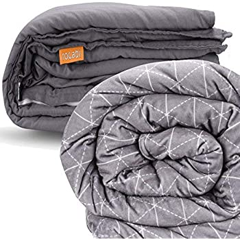 Amazon Com Rocabi Weighted Blanket 15 Lbs Amp Two Cover