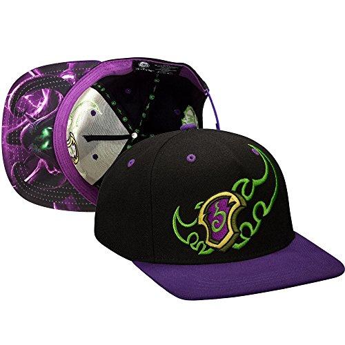 JINX World of Warcraft: Legion Demon Hunter Snapback Baseball Hat (Black, One Size) (Hat Warcraft Of World)