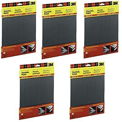 600 Wet-Or-Dry Sandpaper 5 Sheets per pack