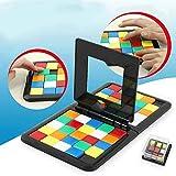 Pesoo Rubik Race - Juego de Bloque mágico, Juego Cara a Cara para desarrollar Habilidades de Pensamiento lógico, Ideal para la interacción Familiar