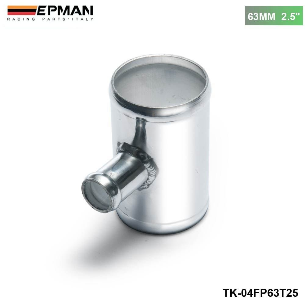 EPMAN Universal BOV T-pipe 63mm 2.5' Outlet 25mm Blow Off Valve T Joint Adaptor RUIAN EP INTERNATIONAL TRADE CO. LTD