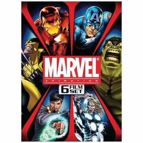 MARVEL ANIMATION BOX SET (DVD) (6DISCS/ENG/SPAN/5.1)