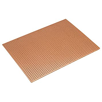 4 Pack PCB Strip Board Prototyping Vero Board 95mm x 127 mm