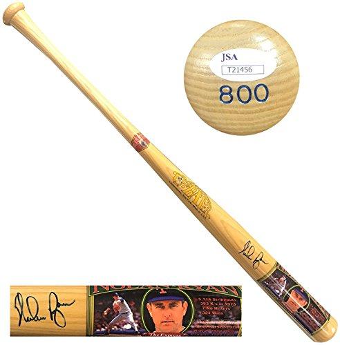 Nolan Ryan JSA Signed Cooperstown Bat Company Baseball Bat Auto LE #800/1000 -