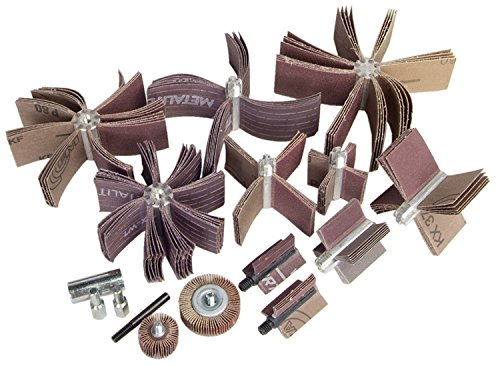 Merit Abrasive Products 08834154181 - Bore Polisher - 120, 180, 60, 80 Grit, Max Bore 1 in, 4 in, 5-7/8 in dia, Min Bore 1 in, 2 in, 5/8 in dia