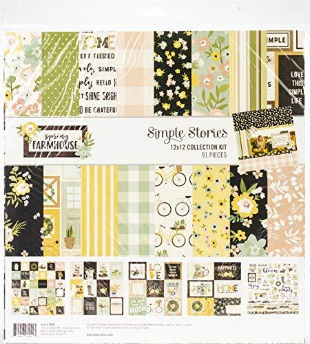 Simple Stories Spring Farmhouse 12x12 Collection Kit - Story Farmhouse