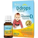 Ddrops Baby 400 IU Drops, 2 Count