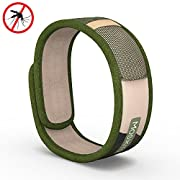 Moskitito - Mosquito Repellent Bracelet with 4 FREE Refills – Best Travel Insect Repellent to kill Insects & Mosquitos. Natural Repellent safe for Babies