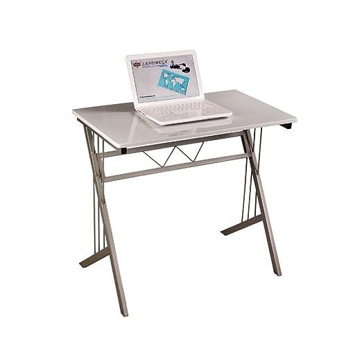 JUSTyou B-120 Mesa escritorio para Ordenador Blanco Tamaño 72 x 51 ...