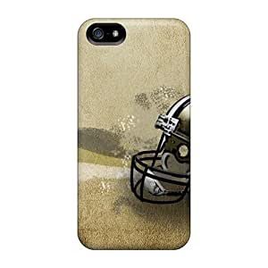Excellent Iphone 5/5s Case Tpu Cover Back Skin Protector New Orleans Saints Helmet