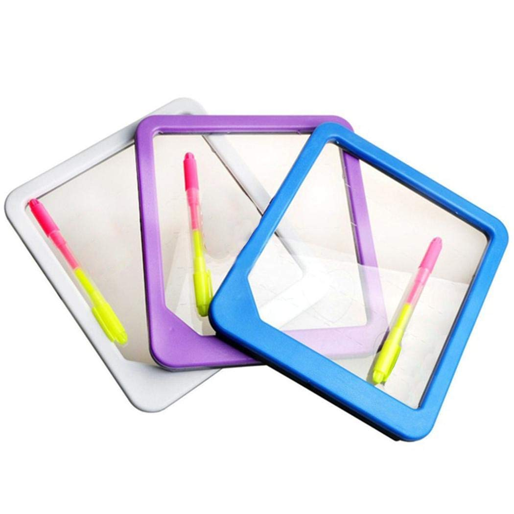 Hotstype LED Light Writing Board Drawing Tablet Message Note Toy GIF Bulletin Boards[Random Color]