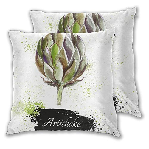 lsrIYzy Decorations Throw Pillow Cushion Cover Set of