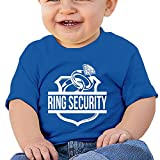 Ring Security 6 - 24 Months Baby T-shirts Round Neck Shirt RoyalBlue