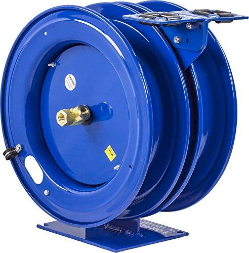 Reel Rewind Spring (Coxreels C-L350L-5012L-X Dual Purpose Electric/Air Spring Rewind Reels: 50' 3/8