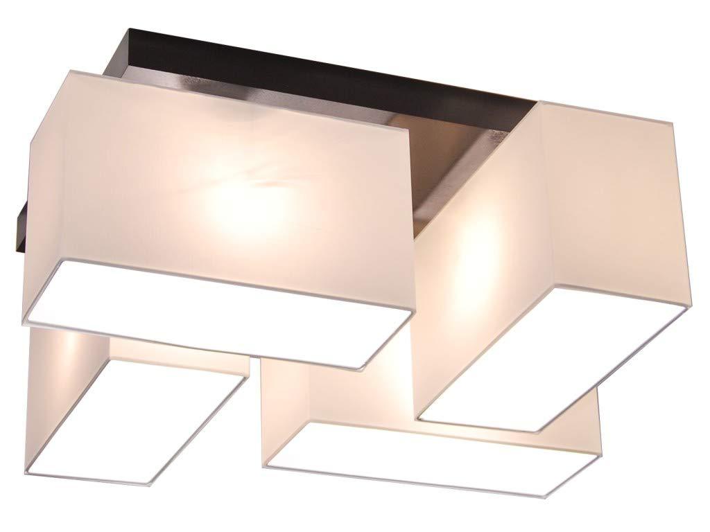 Deckenlampe Deckenlampe Deckenlampe - HausLeuchten JLS411D, Deckenleuchte, Leuchte, Lampe, 4-flammig, Massivholz aac63d