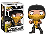 Funko Pop! Games: Mortal Kombat - Scorpion Vinyl Figure (Bundled with Pop BOX PROTECTOR CASE)