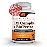 DIM Supplement Complex with BioPerine – Menopause Supplement for Women - 60 Capsules
