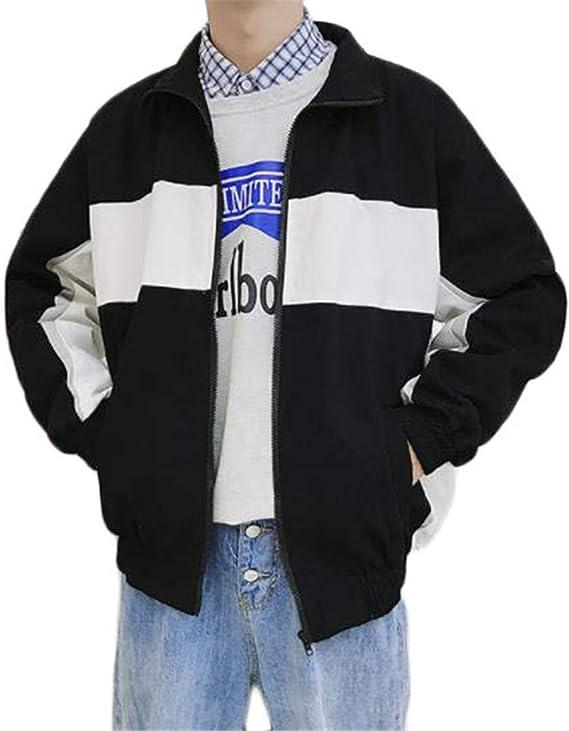 [フ二ンー] メンズ ジャケット 長袖 トップス 柄プリント おしゃれ ストリート系 秋冬 ゆったり 大きいサイズ 個性
