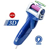 Emjoi Micro-Pedi 3D Power Callus Remover with Soft & Flexible Roller - Xtreme Coarse SoftFlex Roller (Most Powerful & Corded)