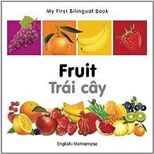 My First Bilingual Book–Fruit (English–Vietnamese)