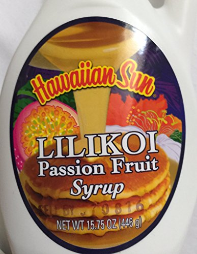 Hawaiian Sun Tropical Pancake Lovers Bundle Set - 3 Strawberry Guava, 3 Banana Macadamia, 3 Chocolate Macadamia, 3 Pineapple Coconut 12 Pancake Mixes Total Plus Coconut, Lilikoi and Guava Syrups. by Hawaiian Sun (Image #1)