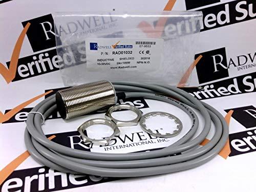 RADWELL VERIFIED SUBSTITUTE NBB10-30GM50-E0-SUB Replacement of PEPPERL & Fuchs NBB10-30GM50-E0, Proximity Sensor - INDUCTIVE Proximity Sensor, Cylindrical, Chrome Plated Brass, Shielded CONSTRUCTI
