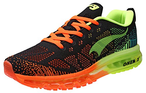 2016 New Women Sneakers Breathable Mesh Light Running Shoes (Green) - 9