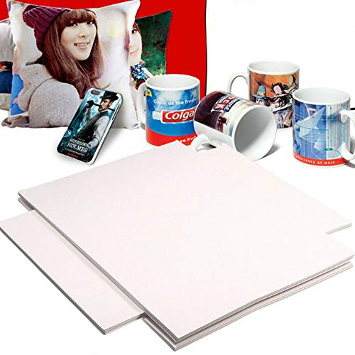 Enshey 100 Sheets A4 Dye Sublimation Heat Transfer Paper for Mug Cup Plate Tiles Printing Polyester Cotton T-Shirt (Shipping from USA)