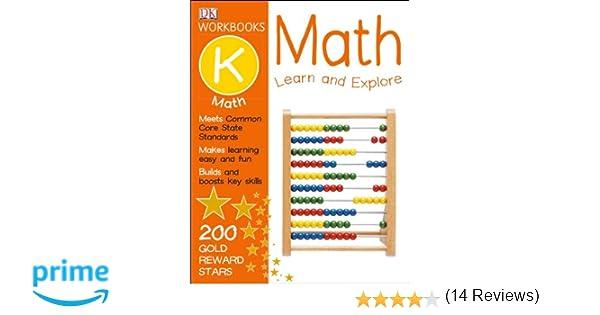 DK Workbooks: Math, Kindergarten: DK Publishing: 9781465417329 ...