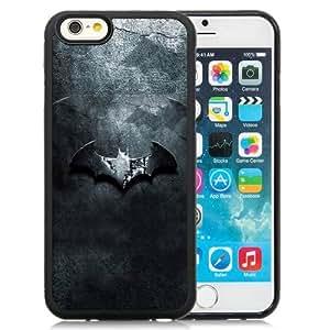 Beautiful Custom Designed Cover Case For iPhone 6 4.7 Inch TPU With Dark Batman Logo Phone Case Kimberly Kurzendoerfer