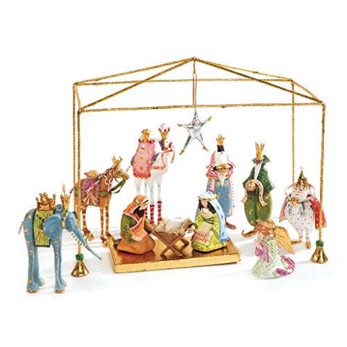- Patience Brewster Christmas Mini Nativity Set of 13 Figurine