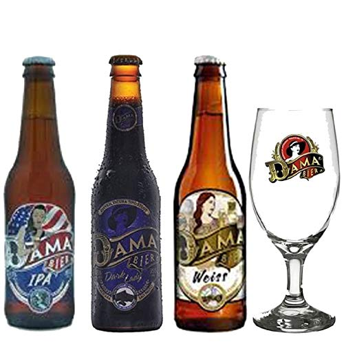 Cervejas Dama Bier contendo rótulos