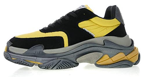Balenciaga Triple S 2.0 Batman Black Yellow Zapatillas de Running para Hombre Mujer: Amazon.es: Zapatos y complementos