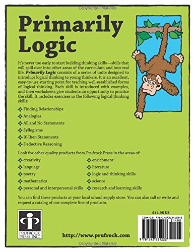 Primarily Logic, Grades 2-4: Judy Leimbach, Diane Draze, Dean ...