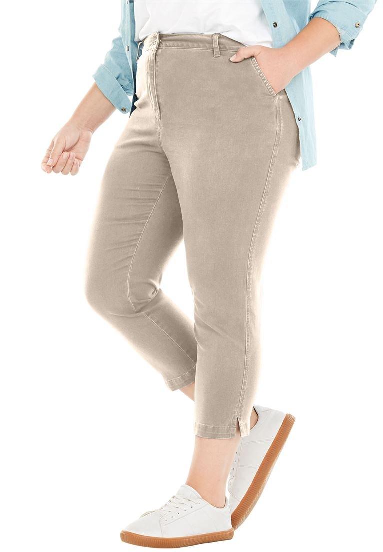 Women's Plus Size Summer Capri Pant