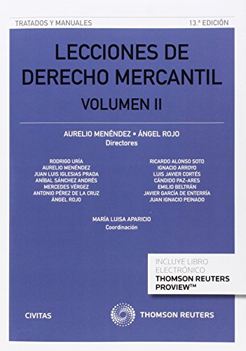 Descargar Libro Lecciones De Derecho Mercantil Volumen Ii Aurelio Menendez Menendez