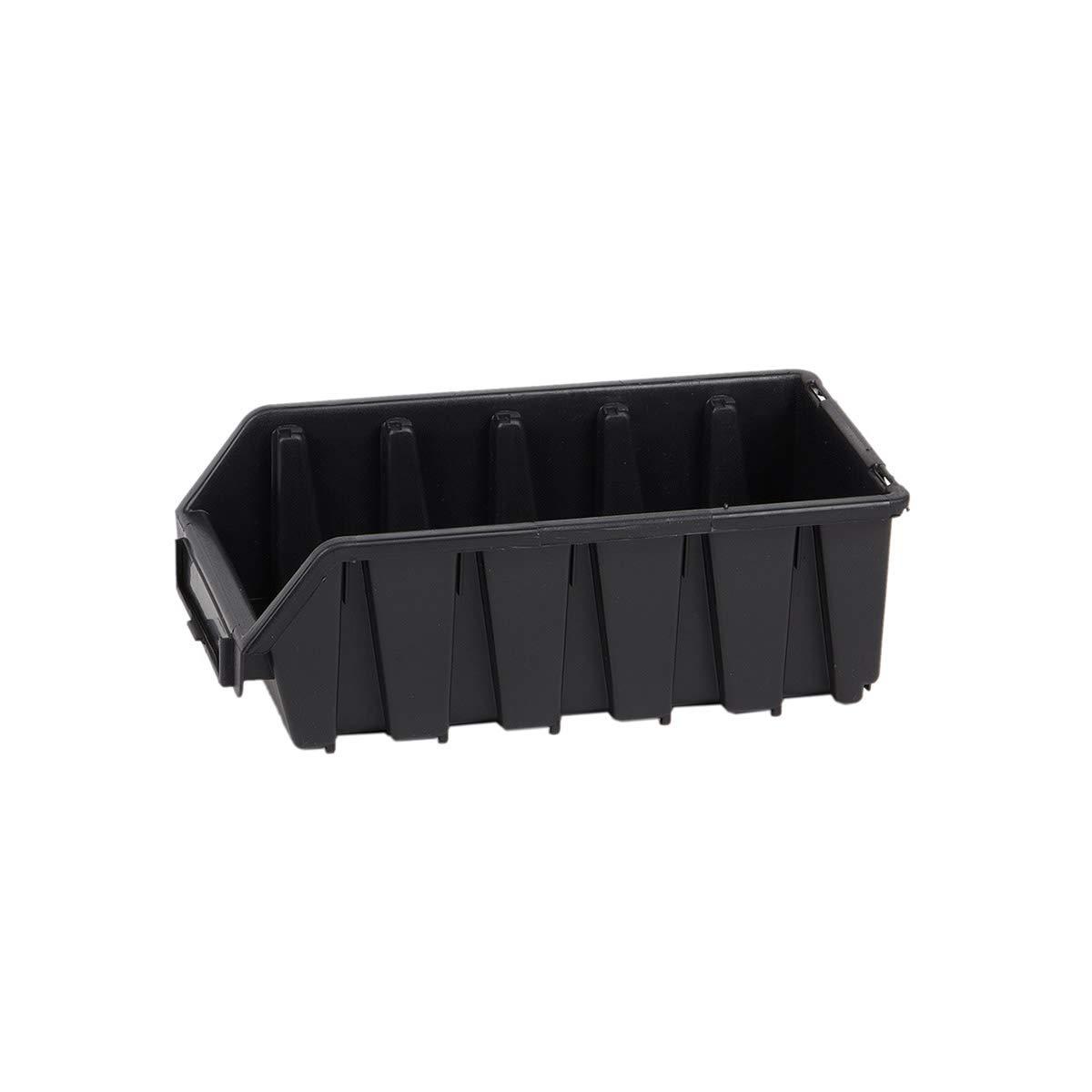 1 Stü ck Blau Langformat Stapelbox Materialbox Regalbehä lter Werkstattkiste myBoxshop PL1-5462