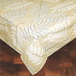 CH y CH 180,34 cm x cm 269,24 hojas impresas Rectangular 100% algodón paño de tabla, 180cm x 270cm