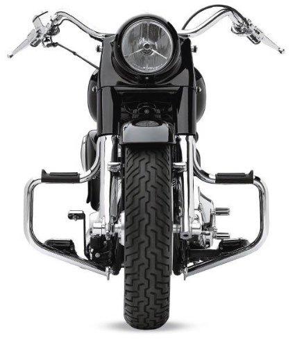 Lindby Multibar Highway Bar (LINDBY 1310 Chrome Front Multibar (Fits 2000-2016 Harley-Davidson Flst Softail Models))
