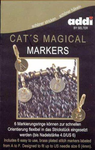addi Cat's Magical Stitch (Lace Stitch Markers)