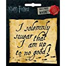 Ata-Boy Harry Potter Die-Cut …Up to No Good Magnet for Cars, Refrigerators and Lockers