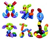 RAINBOW TOYFROG Educational Toys Construction Engineering Blocks for Boys and Girls Building Endless Combinations! Great for Learning & Having Fun Build Your Imagination Today!