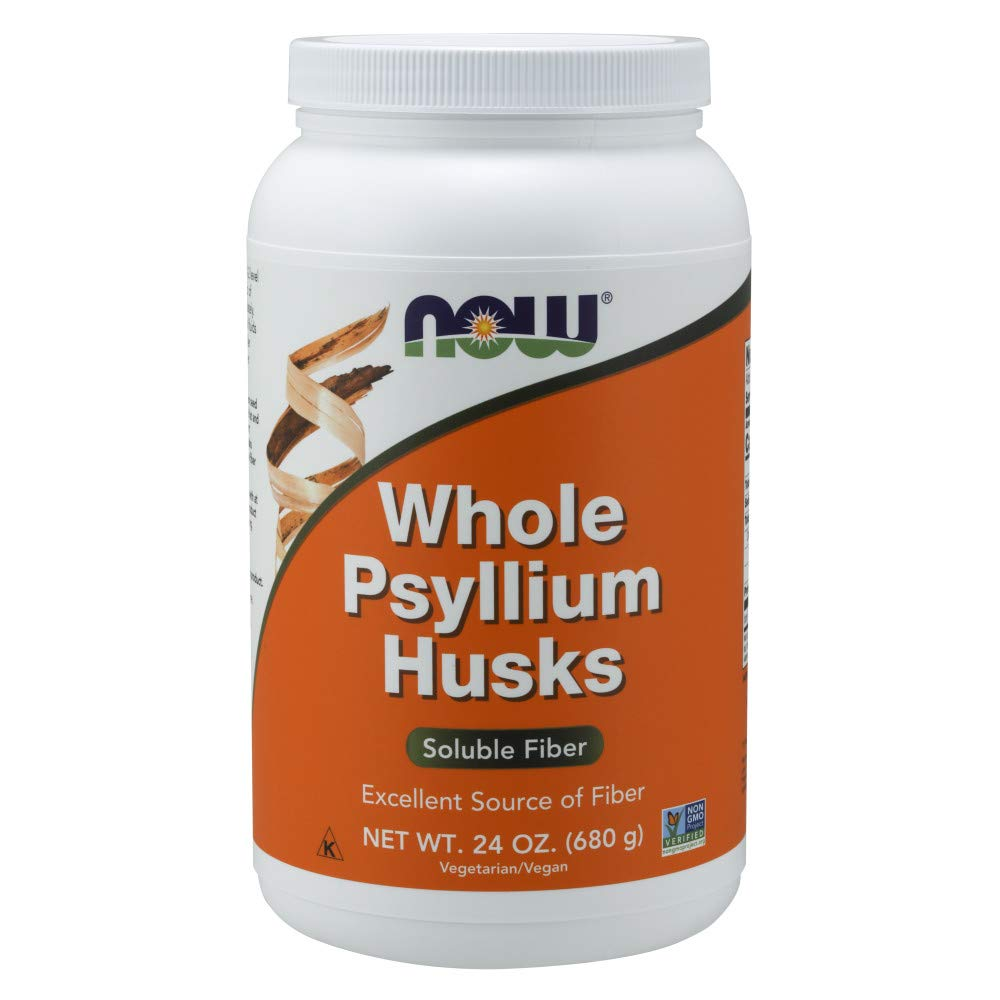 NOW Supplements, Whole Psyllium Husks, 24-Ounce by NOW Foods